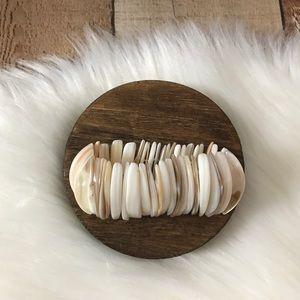 Seashell Stretch Bracelet